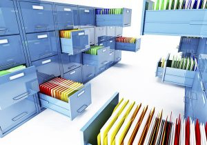 Organized Filing Cabinets